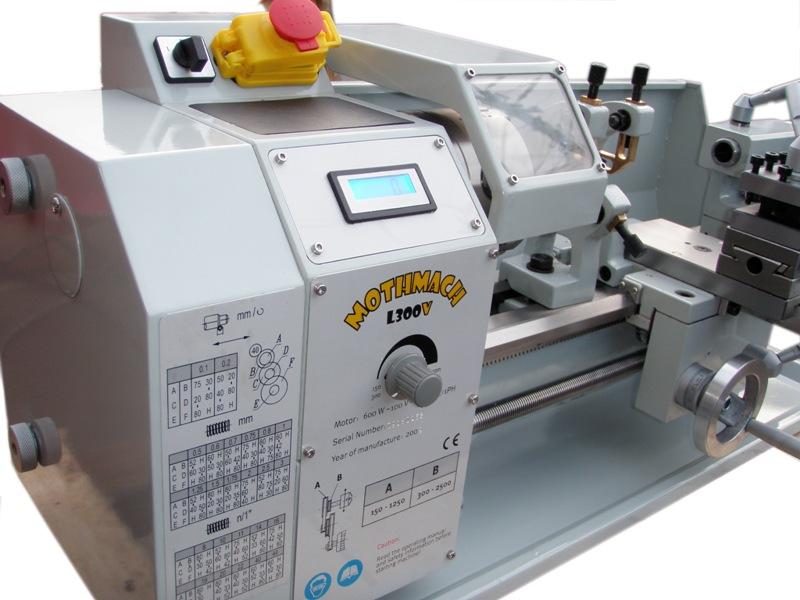 高剛性 小型卓上旋盤 MOTHMACH L300V 【送料無料】【動画あり】【smtb-k】【ky】