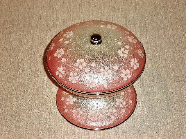 七宝焼 キャンディーボ-ル 桜ピンク