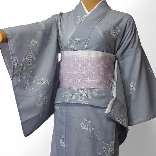 【レンタル】宅配レンタル着物セット(夏物・薄物・駒絽)「Mサイズ」 (4003)