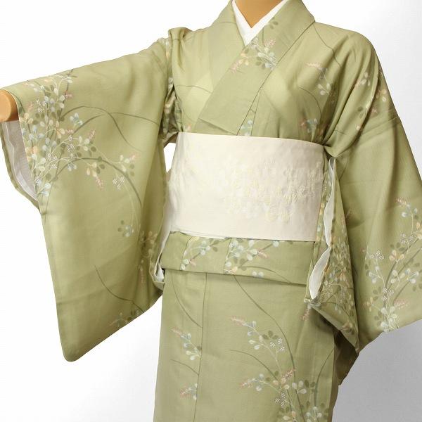 【レンタル】宅配レンタル着物セット(夏物・薄物・駒絽)「Mサイズ」 (4007) お正月・初詣・成人式