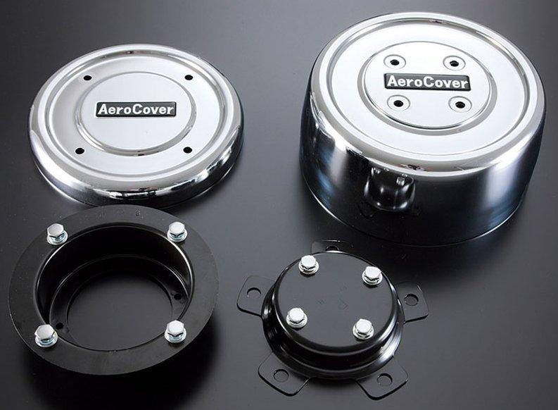 【送料無料】大型 ISO規格 ホイルナット10穴用 エアロカバー(リヤ 軸用)