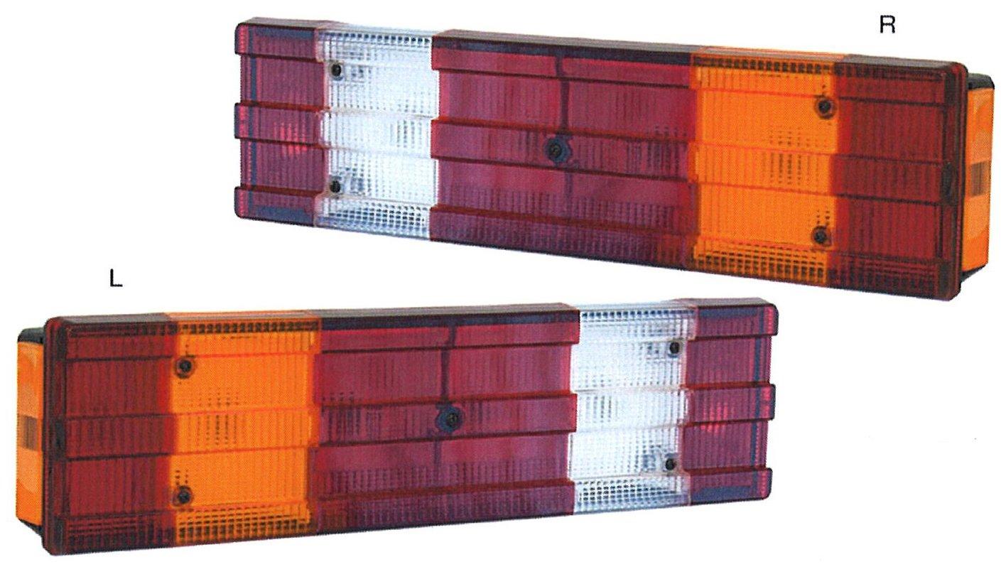 テールランプ トラック用品 常陸美装 テールランプ トラック用品 常陸美装 ベンツタイプテールランプ 525761-762