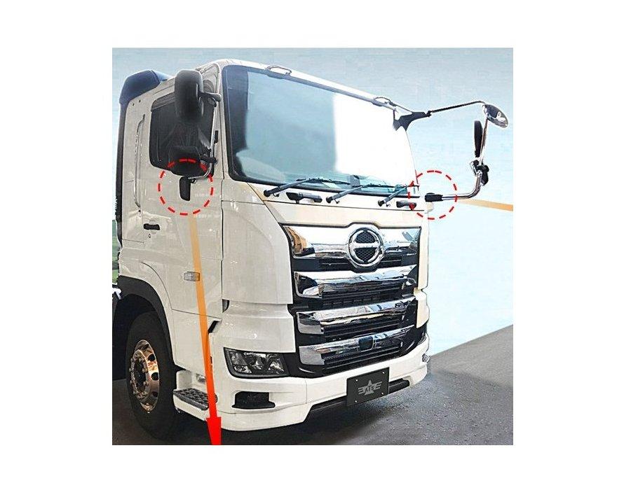 日野 プロフィア トラック用品 常陸美装 日野 プロフィア トラック用品 常陸美装 17プロフィア用ミラーステーキャップカバー