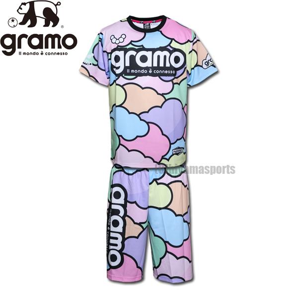 gramo グラモ プラシャツ&プラパンセット cloud3 P-054-MIX-HP034-MIX サッカー フットサル