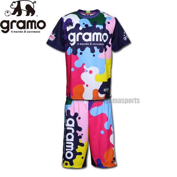 gramo グラモ プラシャツ&プラパンセット splash2 P-053-MIX-HP-033-MIX サッカー フットサル