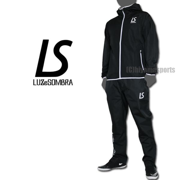 LUZeSOMBRA ルースイソンブラ コンフリトロゴフルジップピステジャケット&スタンダードピステロングパンツ F2011119-BLK-F2011407-BLK サッカー フットサル