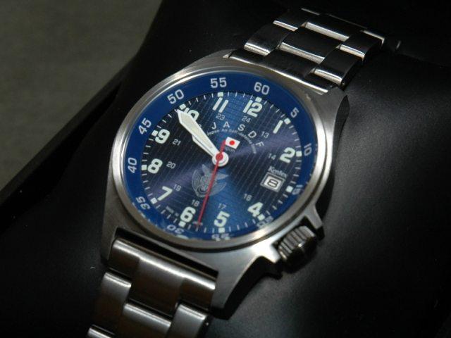 自衛隊腕時計/航空自衛隊(JASDF)メタルバンドモデル S455M-10正規品 日本製ミリタリーウォッチ Kentex ケンテックス