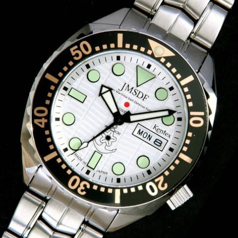해상 자위대 시계/JMSDF 전문가 (바다 자동 전용)/일본 제 밀리터리 시계 JSDF KENTEX