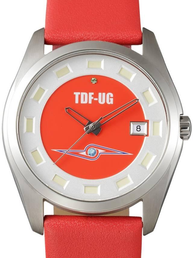 ウルトラセブン 放送開始 50年記念 腕時計 BU7-02 ボッチア チタニュウム ウォッチ【正規品 電池新品交換&防水検査】