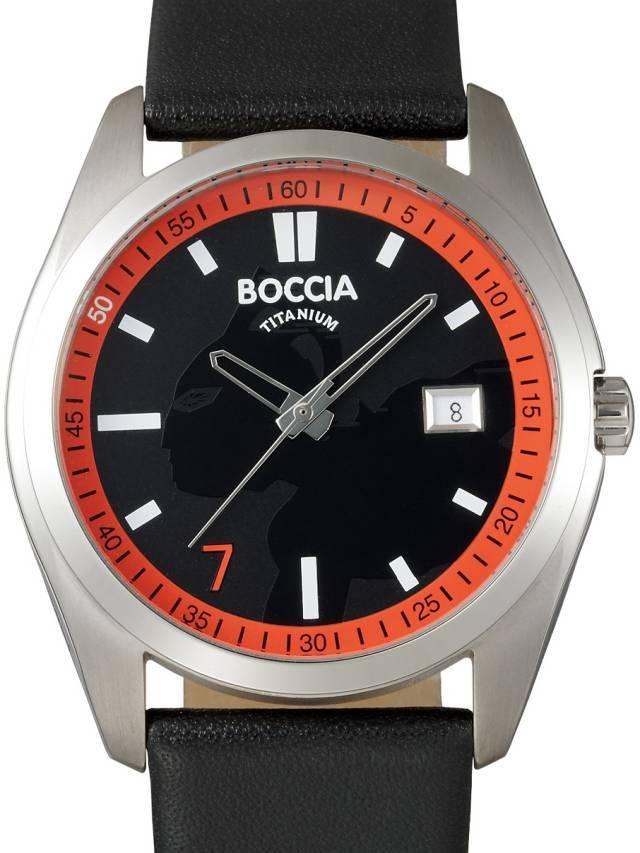 ウルトラセブン 放送開始 50年記念 腕時計 BU7-05 ボッチア チタニュウム ウォッチ Boccia Titanium watch 期間限定