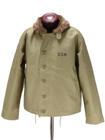 US.NAVY N-1 데크 쟈켓(신품) 밀리터리 미군미 해군 GI