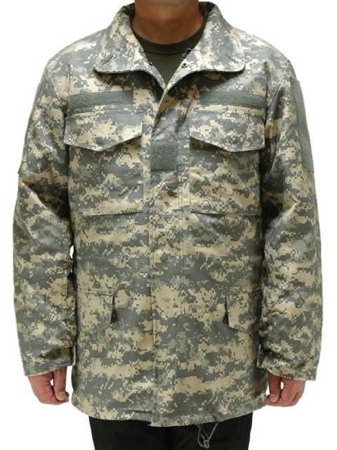 アメリカ軍M-65フィールドジャケットACUデジタルカモROTHCO/ロスコ