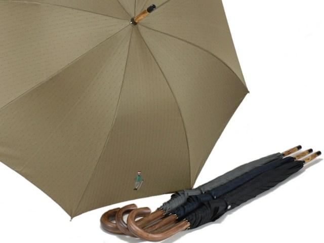 《レインフォール》 カスタニア一本木の紳士用雨傘