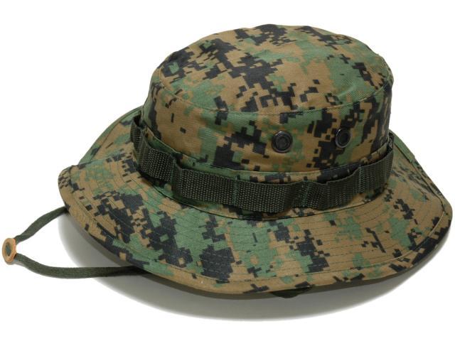 Hobby-mart  U.S. forces jungle hat (Woodland digital duck) army cap child  military ROTHCO  rothco  3cf5e3036e2