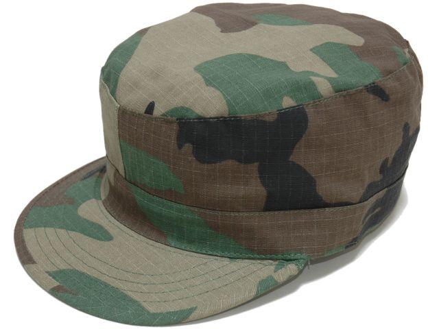 アメリカROTHCO ロスコ 社製ミリタリーワークキャップ アメリカ軍ファティーグキャップ リップストップ 卸売り ミリタリー ウッドランドカモ 『4年保証』 軍帽子 ROTHCO