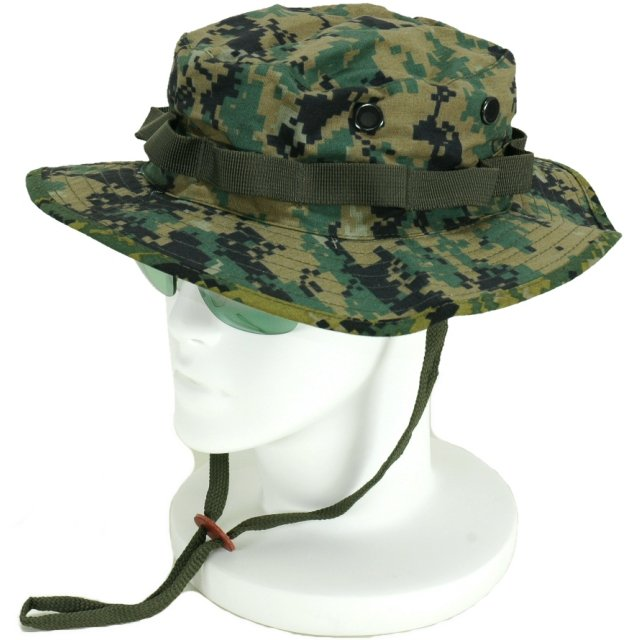 Military US Army jungle hat and Boonie hat (woodland Digital Camo) caps c419843676d