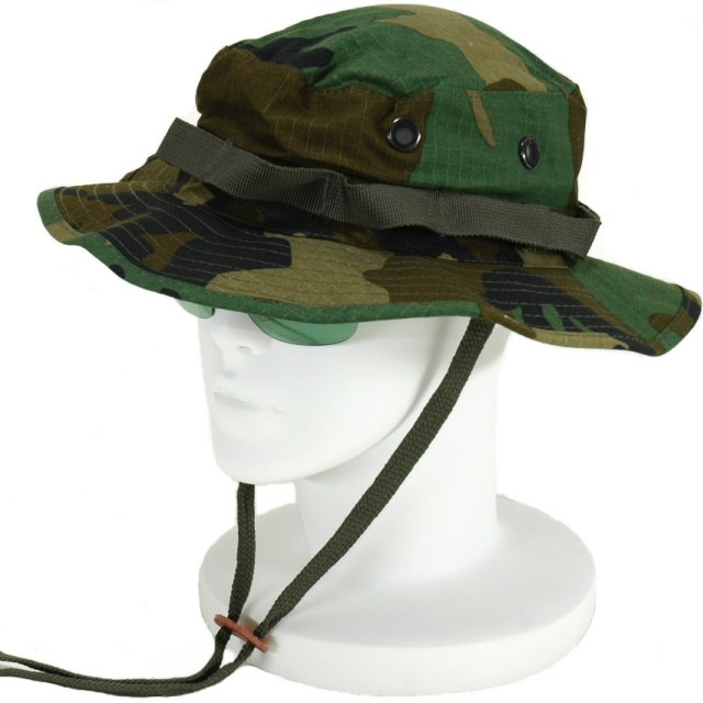 7a9e34e0eb5 Hobby-mart  Military US Army jungle hat and Boonie hat (Woodland ...
