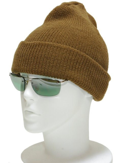 058bd24b1 The U.S. forces wool watch cap (brown) army cap child knit hat military