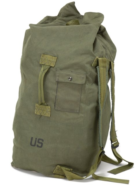4ffbb58ce United States Army US.ARMY Duffle Bag real large high-capacity military GI