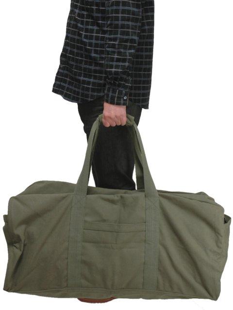 Hobby-mart  Military jumbo cargo bag (OD) rothco  ROTHCO  4591b08191b