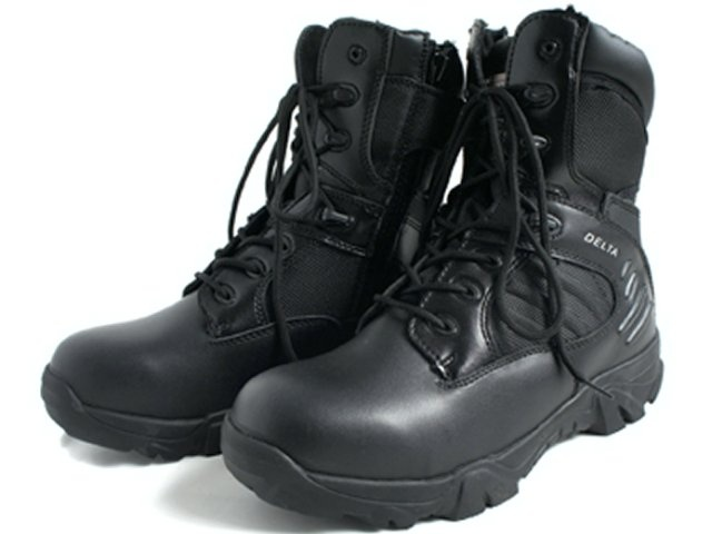 This product is a replica of the DELTA model used in the United States Army  and police special forces. Easy side-zip type detachable tactical boots 0e55a7485d51