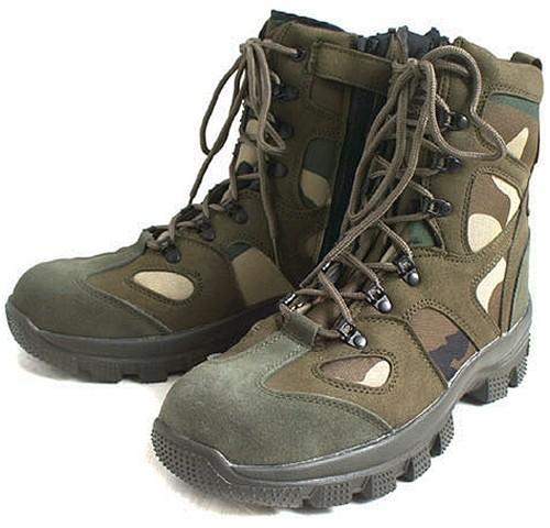Hobby Mart Rakuten Global Market Military Conqueror Type Tactical Boots Woodland Camo