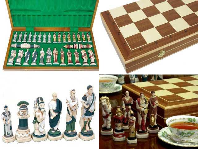 대리석 체스 Spartacus and the Slave Rebellion(스파르타크스의 봉기) chess 수량 한정 판매반구보드게임★