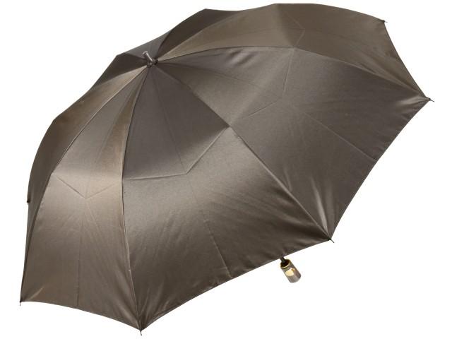 おしゃれなカラーリング手元・石突の折りたたみ傘 シャンブレイ-M(ブロンズゴールド) 前原傘 かさ 前原光榮商店製メンズ雨傘 男