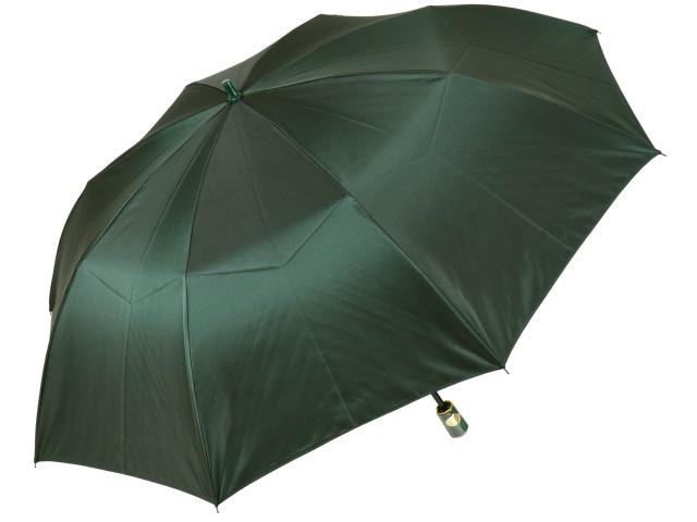 おしゃれなカラーリング手元・石突の折りたたみ傘 シャンブレイ-M(グリーン) 前原傘 かさ 前原光榮商店製メンズ雨傘 男