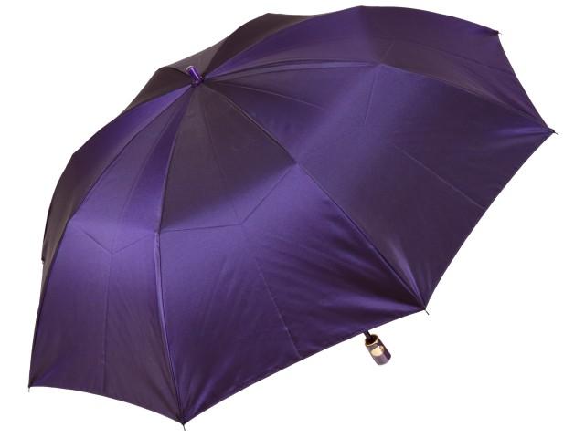 おしゃれなカラーリング手元・石突の折りたたみ傘 シャンブレイ-M(バイオレット) 前原傘 かさ 前原光榮商店製メンズ雨傘 男