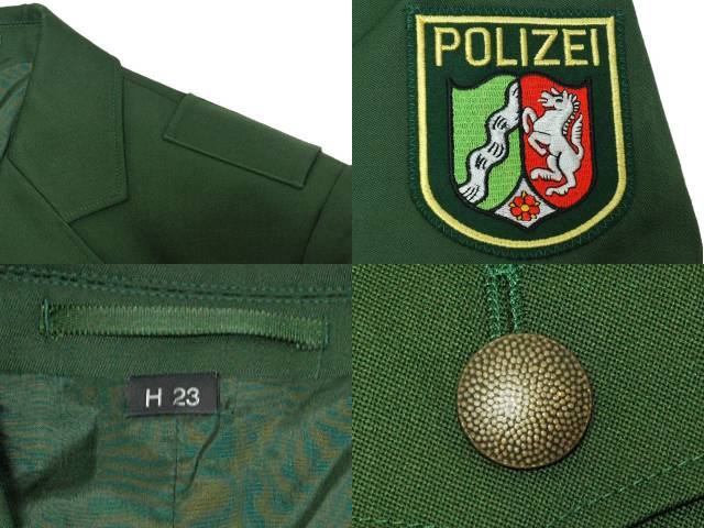 German police dress jacket