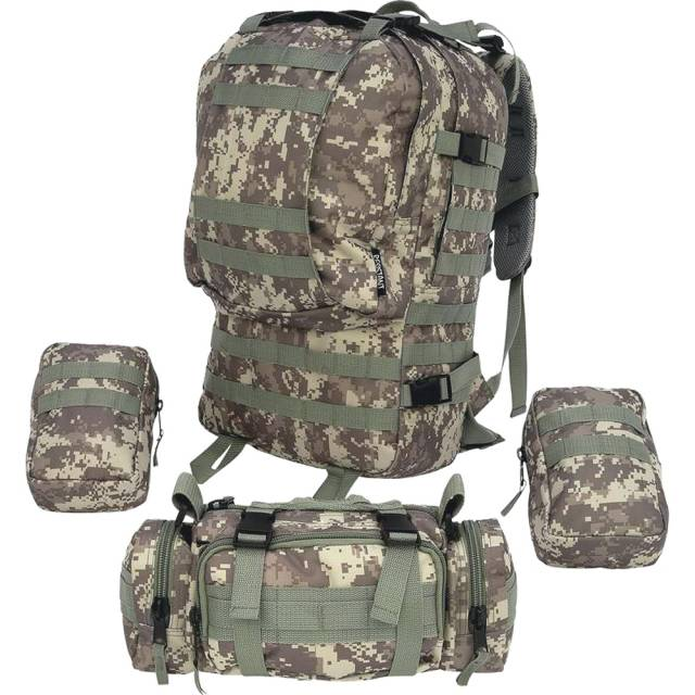 1aa198569 ... Extreme Pak 4pc Digital Camo military back pack male man outdoor  repellent ...