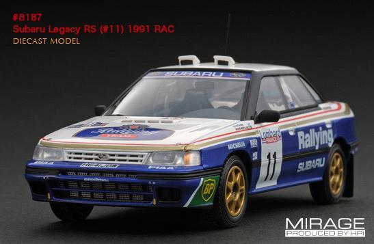 Auc Hobbyshopkume 1 43 Subaru Legacy Rs 1991 Rac 11 A Vatanen