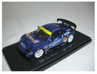 1 43 エンドレス アドバン Z スーパー GT No.13 EBBRO 702 Seasonal Wrap入荷 2005 452617543702 返品交換不可 エブロ