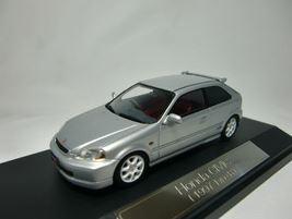 1/43 ホンダ シビック 1997 TypeR ヴォルグシルバーマイカ 【Hi-Story/ハイストーリー】【4523231431352】