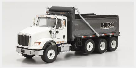 1 トラスト 50scale International HX 620 Dump Truck White DM71013 ハイクオリティ Gunmetal DIECAST MASTERS 4548565358342 京商