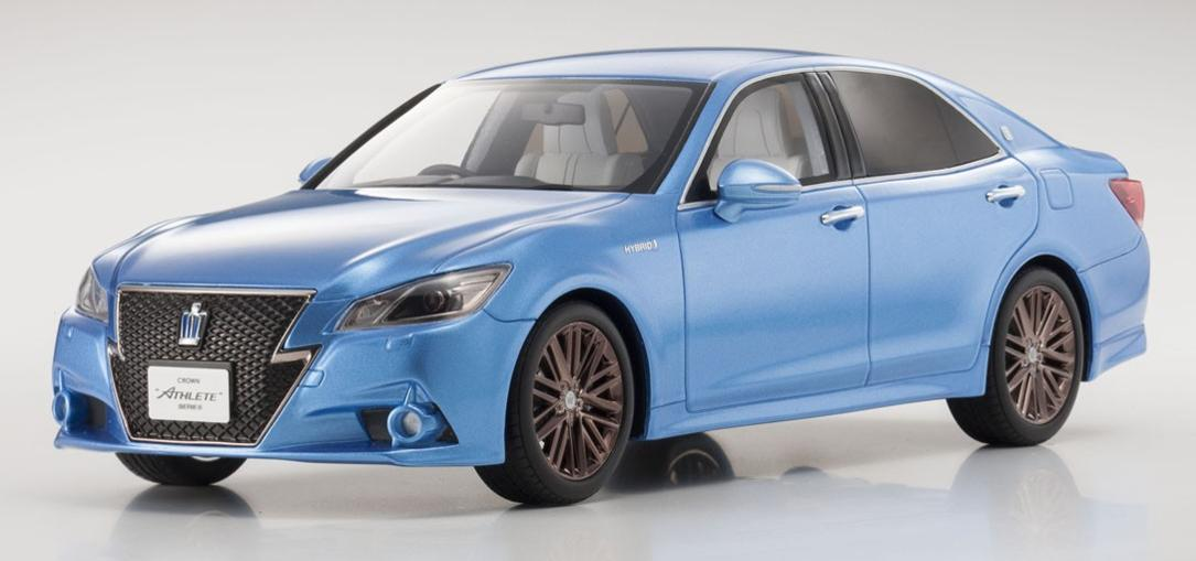 SAMURAI 1/18scale Toyota CROWN Hybrid Athlete S Sora(Blue) [No.KSR18001BL] KSR18001BL 【KYOSHO/京商】【4548565296491】