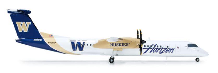 1/200 DHC8-Q400 ホライゾンエア 「ワシントン ハスキーズ」【herpa】【4013150552998】