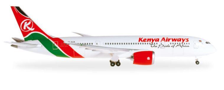 1/ 500 ボーイング 787-8 ケニア航空【ヘルパウイングス】【526821】【4013150526821】