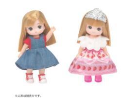 オンラインショップ リカちゃん LW-22 ミキちゃんマキちゃんドレスセット ついに再販開始 スイーツプリンセス ピクニックガールリカちゃん TAKARATOMY タカラトミー 4904810153238 153238