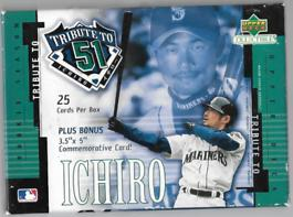 upperdeck collectible tribute to 51イチロー 【アッパーデック】【782870219705】