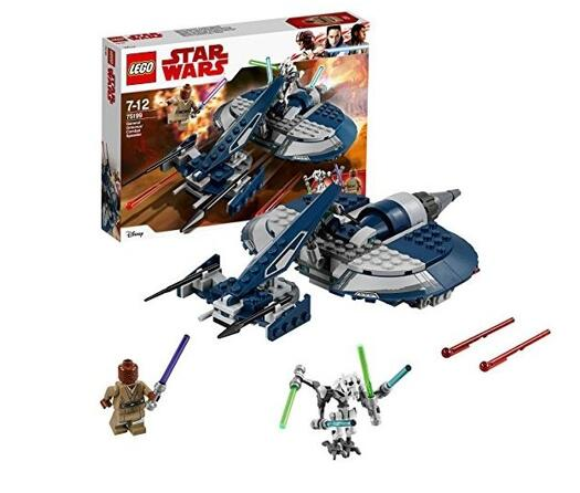 レゴ 初売り LEGO スター ウォーズ スピーダー グリーヴァス将軍のコンバット 75199 アウトレット☆送料無料 5702016109931