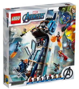 レゴ スーパー ヒーローズ アベンジャーズ 76166 5702016761382 高品質 正規認証品!新規格 タワーの決戦 LEGO