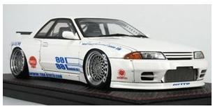 1/18 パンデム GT-R (BNR32) ホワイト  IG1274 【ignition model/イグニッションモデル】【4573448882744】