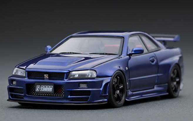 1/43 ニスモ R34 GT-R Z-tune ベイサイドブルー IG1608【ignition model/イグニッションモデル】【4573448886087】