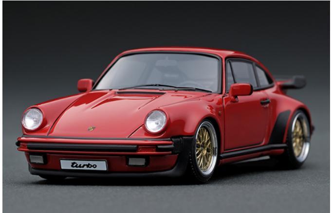 1/43 Porsche911 (930) Turbo Red IG0938 【ignition model/イグニッションモデル】【4571477909388】