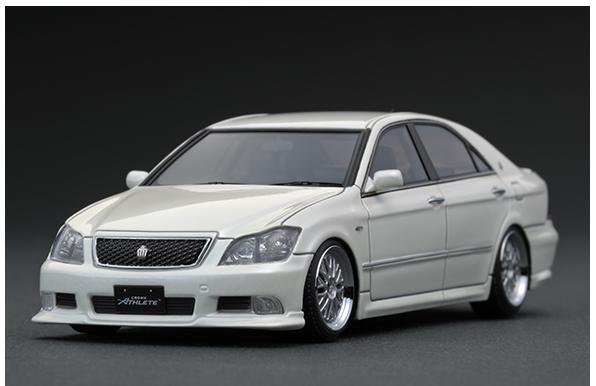 1/43 Toyota Crown (GRS180) 3.5 Athlete Pearl White IG1499 【ignition model/イグニッションモデル】【4573448884991】