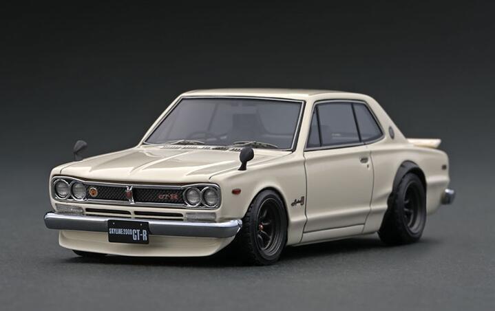 1 43 Nissan Skyline 2000 GT-R KPGC10 4573448889309 IG1930 White 新商品 イグニッションモデル 迅速な対応で商品をお届け致します model ignition