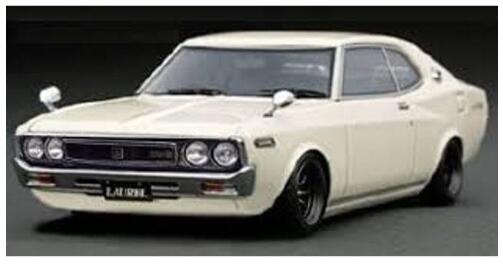1 日本メーカー新品 43 Nissan Laurel 爆買い新作 2000SGX C130 イグニッションモデル ignition 4573448889057 IG1905 model White