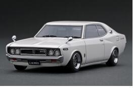 1 43 オンライン限定商品 Nissan Laurel キャンペーンもお見逃しなく 2000SGX C130 model ignition 4573448889064 イグニッションモデル IG1906 White